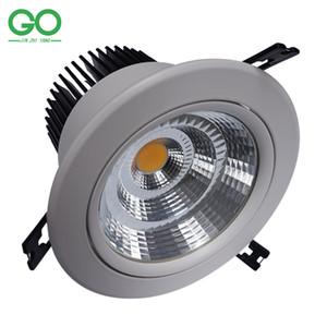 إضاءة السقف سبوت LED النازل 7W / 10W / 12W / 15W / 20W / 30W / 40W / 50W إضاءة السقف سبوت لايت سبوت لايت 110V 120V 220V 230V 240V Wall Down Lights