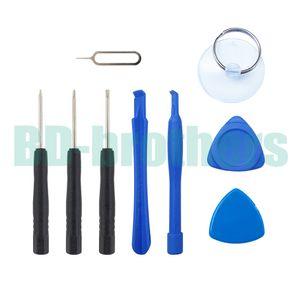 9 em 1 Reparação Abertura Tools Kit ferramenta de alavanca Com Pin Eject chave para telefone celular da Apple iPhone 4G 4 5 5S 6 6Plus 6S