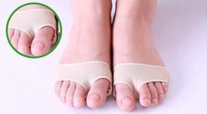 1 Çift / grup Ayak Bakımı Halluks Valgus Toe Koruyucu Jel Kol Ayak Yastık Toe Braces Çorap Metatarsal Kayış