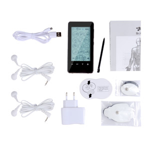 Новый 12 Режимов Сенсорный Экран Smart TENS Блок Электронный Импульсный Массажер Электрод Терапия устройство импульсный массажер