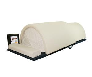 Alta qualidade profissional, Sauna Dome com controll Wooden Box, Solo Sistema, 1 Pessoa infravermelho distante Fusão de carbono / cerâmica