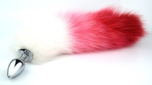 Nuevo Calidad Metal Pequeño Enchufe Toys, G Fox Tail Sex Plug Butt Men Mujer Spot Anal Tamaño Sexo Alto Adulto Juegos Anal Tcgwm