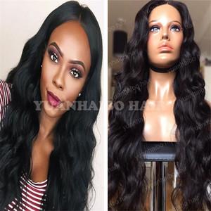 Stock Top 8A Grade Glueless Full Lace Wig Vierge Brésilienne Cheveux Lâche Vague Extra Longue Lace Front Perruques Livraison gratuite!