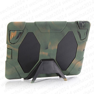 ShockProof Case Defender Protecting Hybrid Silicon PC Shell Case Cover for Samsung Galaxy Tab 3 7.0 T210 P3200 Tab 4 T230 T330 P5200