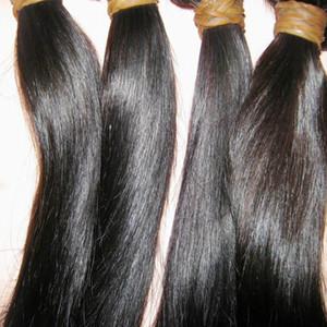 """MEILLEUR malaisienne Vierge Cheveux raides 1pcs / lot 12 """"-28"""" Beauté Locks produits 8A original Human Hair Weave"""
