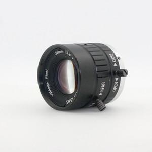 Objectif de monture C 10MP 35mm 1: 1.8 HD Caméra industrielle Fixe Manuel IRIS Focus Zoom pour Microscope Industriel
