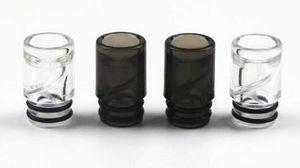 Espiral goteo punta 510 de plástico contra escupir vape boca boquilla ijusts vape puntas de color vaping boca 100 unids dhl