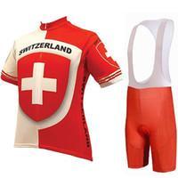 2021 Швейцария World Велоспорт Джерси 19D Pad Bike Шорты Установить дышащий горный велосипед Одежда быстрая сухой велосипед Maillot Culotte