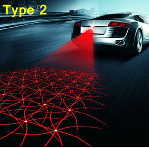 Auto Laser Tail 12v led Fendinebbia Auto Brake Parking Auto-Styling Spie auto Car Styling per Ford BMW Toyota ecc.