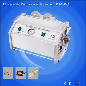 RU8304A hydro soie peeling machine faciale diamant peeling machine Microdermabrasion instrument microcrystalline peel instrument à anti acné ac