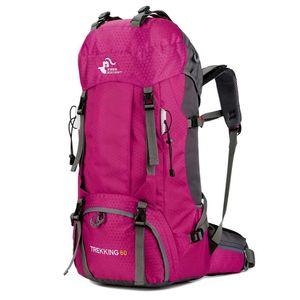 Wasserdichte Durable Outdoor Klettern Rucksack WomenMen Wandern Sport Sport Reisen Rucksäcke Klettern Taschen Hohe Qualität Unisex Nylontasche