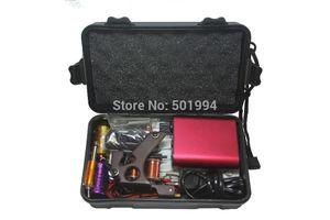 Großhandel - Tattoo Kit Professional mit bester Qualität Permanent Make-up-Maschine für Tattoo Equipment Günstige Red Tattoo Machines