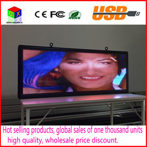 P5 SMD3528 LED display panel outdoor advertising RGB 7 color advertisement size:103cmX39cm(40''x15'') led sign