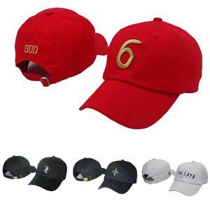 Мода 6 Бог Молитва Strapback Шапки Слишком Поздно Дрейк Шляпы Мужчины Женщины Спорт Snapback Бейсболка Хип-Хоп Регулируемая Шляпа
