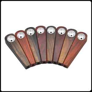 Holzpfeifen-Pfeifen 17mm Durchmesser 76mm Höhe Einfache Art für Tabak