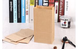 Коричневый крафт-бумага подарочные пакеты свадебные конфеты пакет вторичной переработки ткани пищевой хлеб торговый мешок упаковки лучший подарок пакет