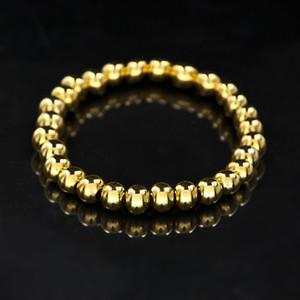 Unisexe 4 Style Chapelet Perle Bracelet En Acier Inoxydable De Mode Bijoux Bouddhiste Bouddha Méditation Perles Bracelet Bracelet Top Qualité Bracelet