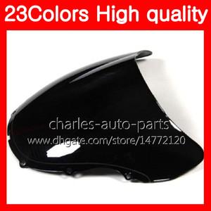 100% новый мотоцикл ветровое стекло для HONDA CBR600F4 99 00 99-00 CBR600 F4 CBR 600 F4 CBR 600F4 1999 2000 хром Черный прозрачный дым лобовое стекло
