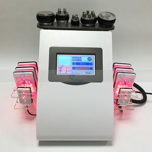 Nueva promoción láser láser adelgazamiento ultrasónico 40k cavitación pérdida de peso terapia vacío remoción de celulitis que quema grasa rf face elevación spa