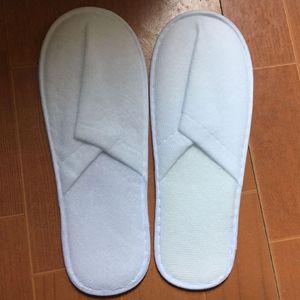 Pantofole monouso di alta qualità a buon mercato all'ingrosso di alta qualità Pantofole monouso bianche per adulti Hotel Babouche Travel Guesthouse spedizione gratuita