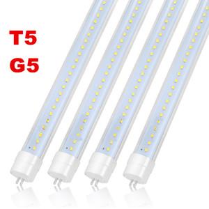 tubo UL FCC LED T5 luzes G5 1.163 milímetros quatro pés 22W 2400lm lâmpadas T5 dois pés 3 pés tubos de LED Light AC 85-265V