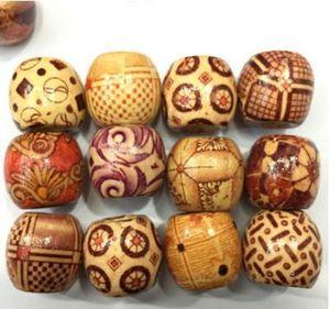 Lose Perlen 10 MM Retro Blumen und Perle Kostenloser Versand Holz Perlen Diy Schmuck Zubehör Holzperlen Holzperle