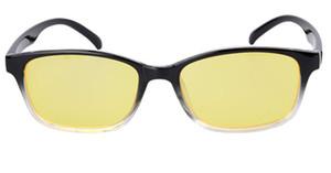 Gläser Anti-Müdigkeit Strahlenschutz Bequeme Gläser Anti Blue Ray Computer Spiel Flat Goggles Verringerung schädlicher Ebene großen Rahmen
