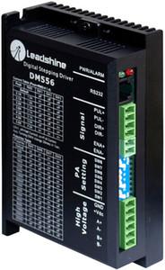 무료 배송 New Leadshine DM556 2 상 디지털 스테퍼 드라이브 작업 관련 제품 NEMA23 모터 용 36-60 VDC 2.1A ~ 5.6A