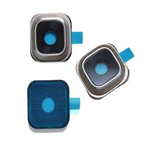 Copriobiettivo per fotocamera in vetro per Samsung Galaxy S5 S6 bordo G9200 G9250 S6 Edge Plus G9280 Nota 5 bordo S7 Parte di ricambio DHL libero