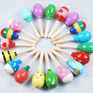 Wooden Ball Children Toys Percussion Musical Instruments Sand Hammer Orff musical instruments Educational Toys b7977