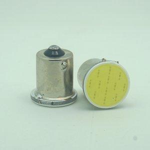 100X S25 1156 led COB 12SMD chips 1156 BA15S P21W Auto Car Signal Reverse Led Lights super White 12V Auto Led bulb