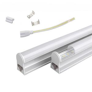 T5 1.2 m entegre 22 W LED tüp ışıkları 96 adet SMD 2835 LED floresan 4FT tüp ışık AC 85-277 V sıcak / soğuk beyaz