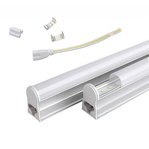 T5 1.2M والمتكاملة 22W بقيادة أضواء أنبوب 96PCS SMD 2835 LED نيون 4FT الأنبوبة الخفيفة AC 85-277V دافئ / أبيض بارد