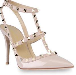 женщины высокие каблуки платье обувь девушки сексуальная острым носом обувь пряжки платформы насосы свадебные туфли черный белый розовый цвет