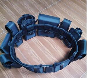 cinturones tácticos multifunción cinturones de caza al aire libre de la lona de escalada al aire libre de la correa de la correa táctica de formación del cinturón de seguridad de supervivencia