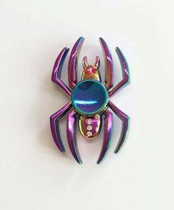 Multis Types Fidget Spinner Toys Rainbow Tri-Fidget Main Main Coloré Edc Gyro Jouets Main Spinners Toilet Top Toile Spinning Jouet dans la boîte de vente au détail