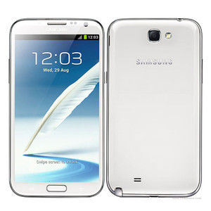 Reacondicionado Samsung Galaxy Note 2 N7100 N7105 5.5 pulgadas Quad Core 2GB RAM 16GB ROM 3G 4G Teléfonos celulares desbloqueados LCD original