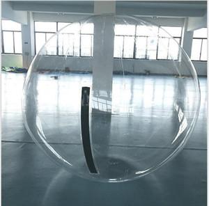 1.3 m 1.5 m 1.8 m bola inflable transparente del PVC que camina de la bola del agua inflable que juega bolas de la bola del zorb bolas del baile de la caminata del agua