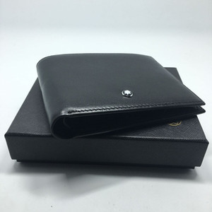 2 스타일 정품 가죽 남성 지갑 고품질 디자인 지갑 신용 카드 ID 홀더 지갑 남자 선물 카드 홀더 Bifold 남성 지갑