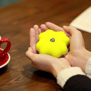 Trevo Estilo 3 cores Mão Lucky portátil Aquecedor de mão elétrico, aquecimento brinquedo, aquecedor, mini máquina de aquecimento para as mulheres