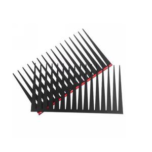 60 PCS (= 30 Pairs) X Noir 3D Cils Phares De Voiture Cils Oeil De Voiture Auto 3D Cils 3D Car Logo Autocollant Livraison Gratuite (DY)
