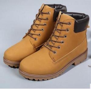Moda erkek Boots Martin Stil erkekler Bilek Boots Yeni Büyük Popüler Boot'un zapatos Açık kamuflaj Chaussure boyutu 36 ~ 46