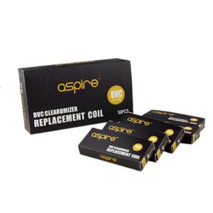 Elektronik Sigara bobin güncellenmiş Aspire CE5 CE5-S ET-S Clearomizer BDC Aspire BVC Bobinler Çift Bobinler