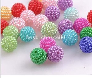 500pcs Mixed Imitation Pearl Round Beads For Europe Beads for Jewelry making 10mm 12mm