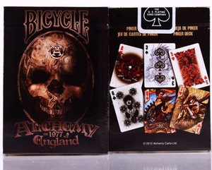 1pcs Bicycle Alchemy ll Gothic England Deck Magic Cards Playing Card Poker Close Up Stage Magic Tricks for Professional Magician
