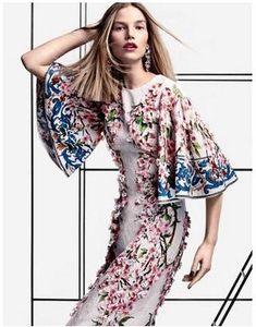 المدرج اللباس 2017 العلامة التجارية نفس نمط فساتين طباعة اللباس الصيف طاقم الرقبة الغش مضيئة منتصف العجل 1/2 كم طباعة الزهور BB09