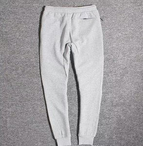 Comercio al por mayor Tech Fleece Sport Pants Space Cotton Pantalones Hombre Chándal Pantalones Hombre Jogger Tech Fleece Camo Pantalón de running 2 colores