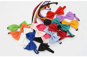Bow ties for Wedding Party cute Candy colorful Adjustable Neckwear Children Kids Boy Bow Ties mens womens fashion accessories