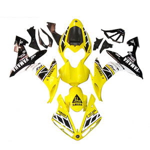 3 free gifts Complete Fairings For Yamaha YZF 1000 YZF R12004 2005 2006 Injection Plastic Motorcycle Full Fairing Kit Yellow b11