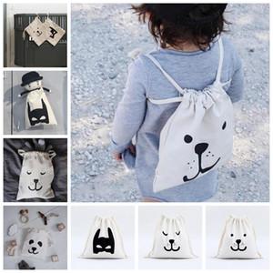 INS Çantası INS Bebek Çantası Çocuklar için Mini Sırt Çantaları Oyuncaklar Storange Çanta Karikatür Çocuklar İpli Sırt Çantası OOA2471